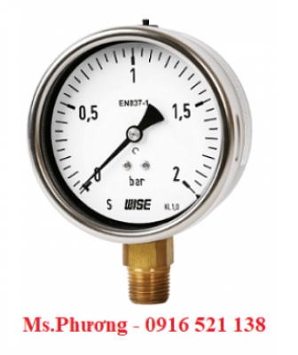 Đồng hồ áp suất Wise model P253