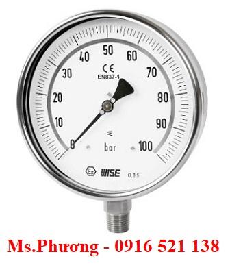 Đồng hồ áp suất Wise Model P229