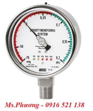 Đồng hồ áp suất wise đo mật độ khí SF6 model P580
