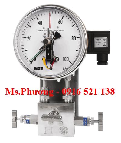Đồng hồ chênh áp wise model P650