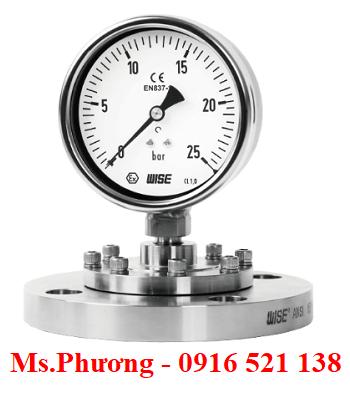 Đồng hồ áp suất wise dạng màng model P730