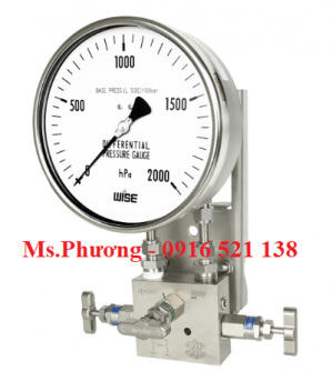 Đồng hồ áp suất wise model P660