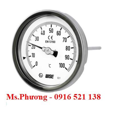 Đồng hồ nhiệt độ Wise model T110