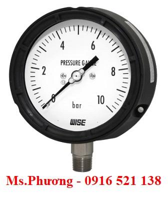Đồng hồ áp suất Wise Model P359