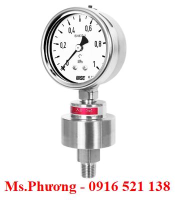 Đồng hồ áp suất Wise dạng màng Model P701