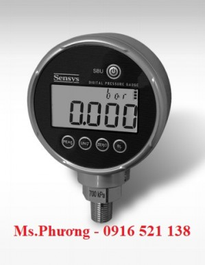 Đồng hồ áp suất hiển thị điện tử Sensys SBH