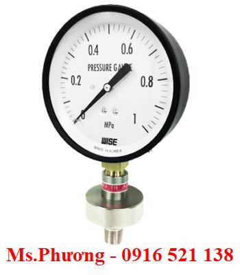 Đồng hồ áp suất dạng màng wise P170
