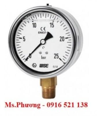 Đồng hồ đo áp suất Wise P259