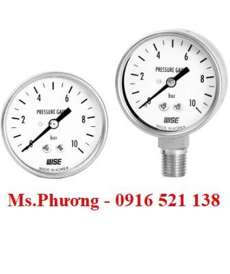 Đồng hồ áp suất Wise model P221 & P253