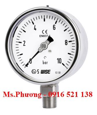 Đồng hồ áp suất Wise Model P252