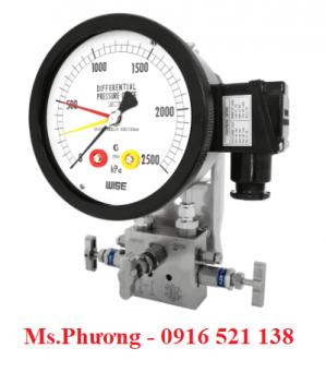Đồng hồ chênh áp wise Model P680