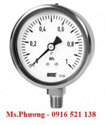 Đồng hồ áp suất Wise model P255