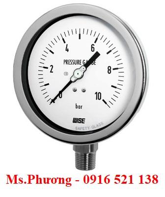 Đồng hồ áp suất Wise Model P222