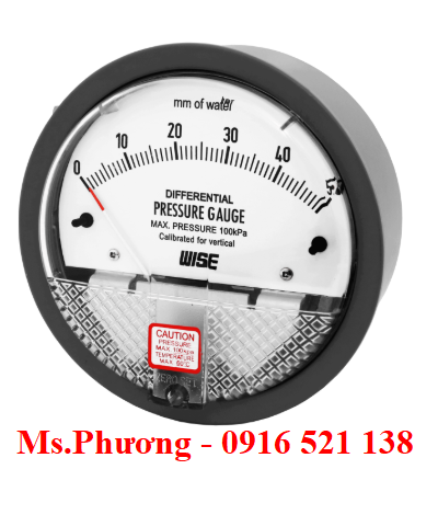 Đồng hồ áp suất Wise model P880