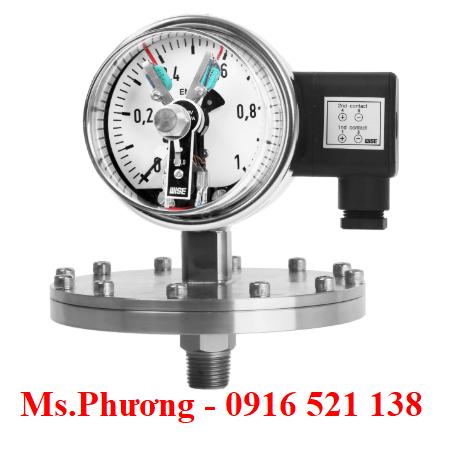 Đồng hồ áp suất wise loại tiếp điểm P501, P502