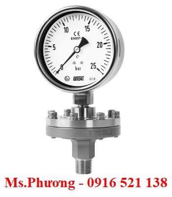 Đồng hồ áp suất màng Wise Model P710