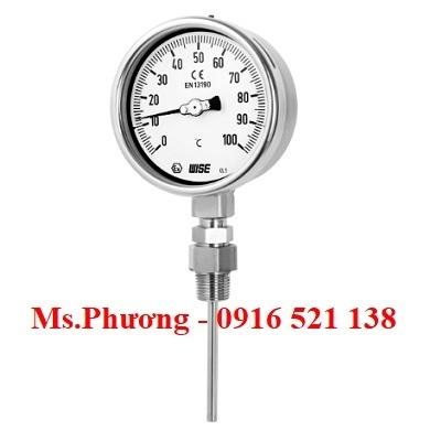 Đồng hồ nhiệt độ Wise model T150