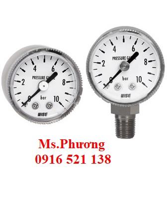 Đồng hồ áp suất wise Model P235S - P235B