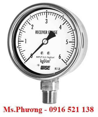 Đồng hồ áp suất Wise Model P228