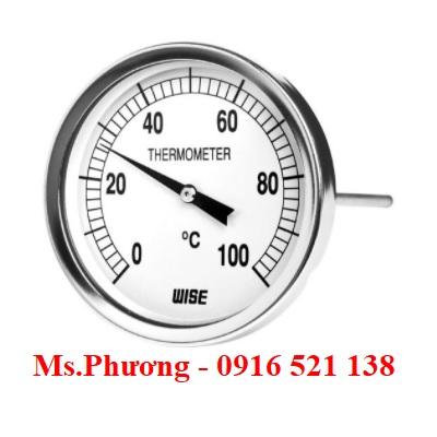 Đồng hồ nhiệt độ Wise model T114