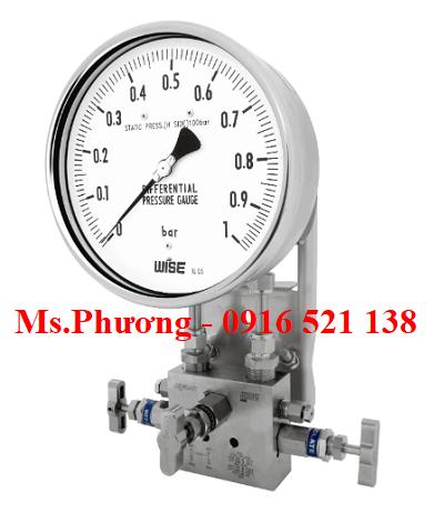 Đồng hồ chênh áp Wise Model P670