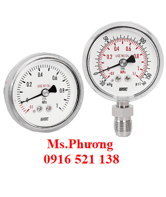 Đồng hồ áp suất wise model P810