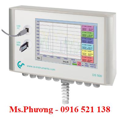 Máy ghi biểu đồ thông minh CS Instruments Model DS500