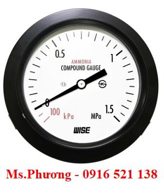 Đồng hồ áp suất Wise P111