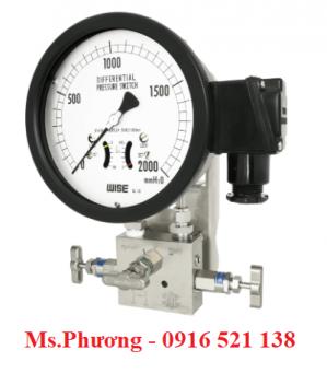 Đồng hồ chênh áp Wise model P640