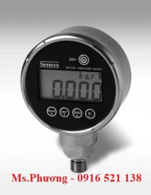 Đồng hồ áp suất điện tử Sensys SBU