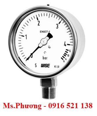 Đông hồ áp suất Wise Model P256