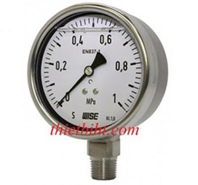 Tại sao phải sử dụng đồng hồ áp suất Wise có dầu giảm trấn!