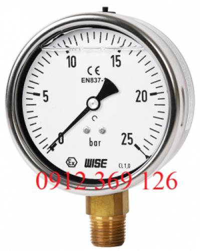 Đồng hồ áp suất wise - Hàn Quốc Một số model thông dụng ( P2)